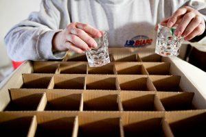 emballer des objets fragiles lors d'un déménagement